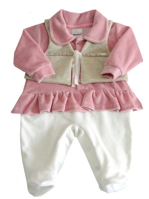 Macacão Longo  - Chuquinha Baby