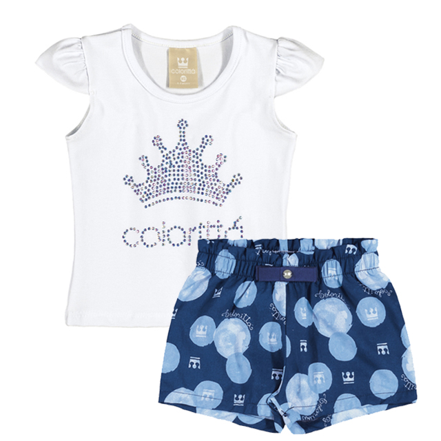 Conjunto De Shorts - Colorittá